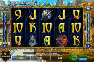 Game Slot Lightning God Online Dari Joker123